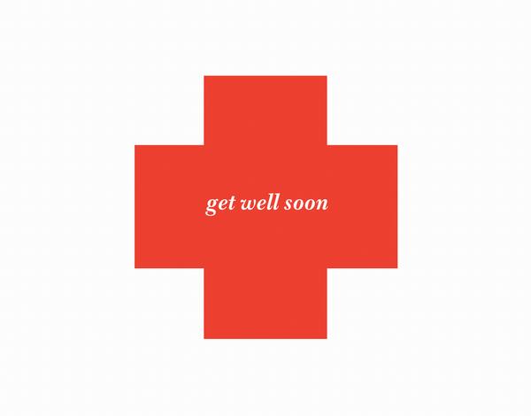 Red Cross Get Well Card