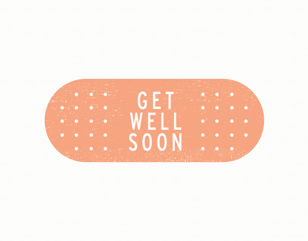 Band Aid Get Well Card