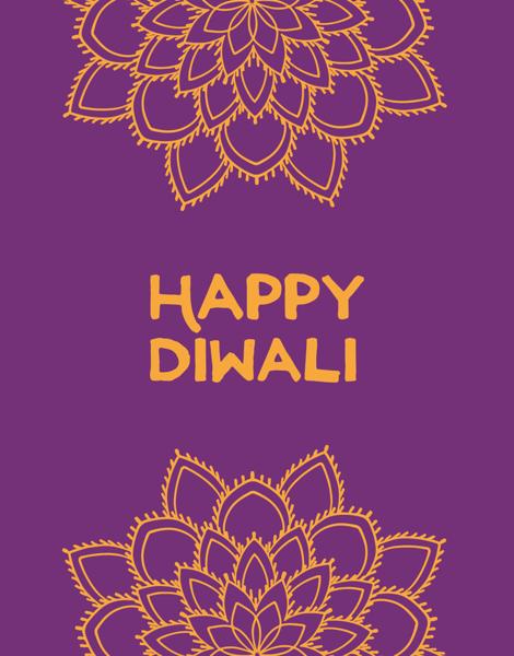 Happy Diwali Mandala