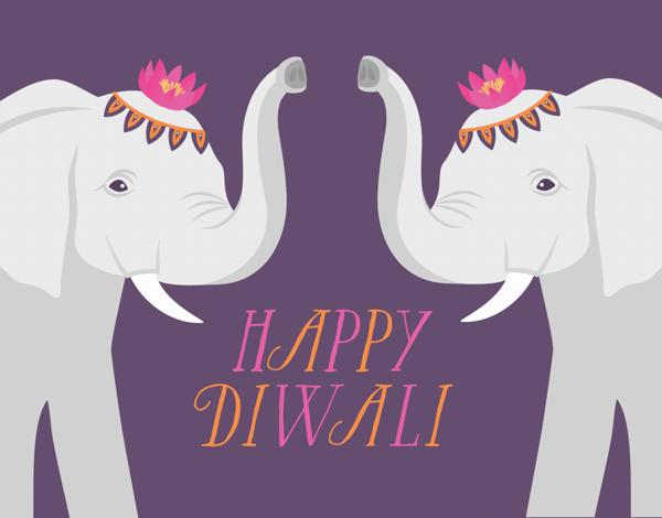 White Elephants Diwali