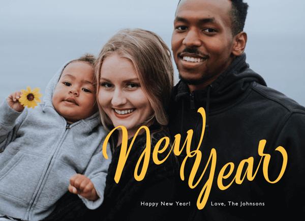 Brushy New Year