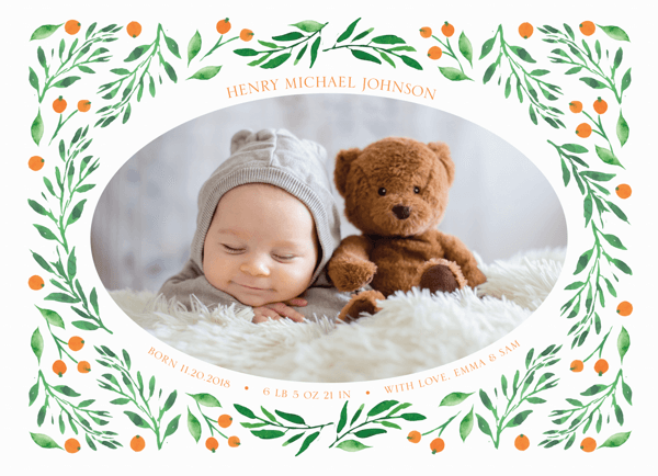 Seaberry Birth Announcement