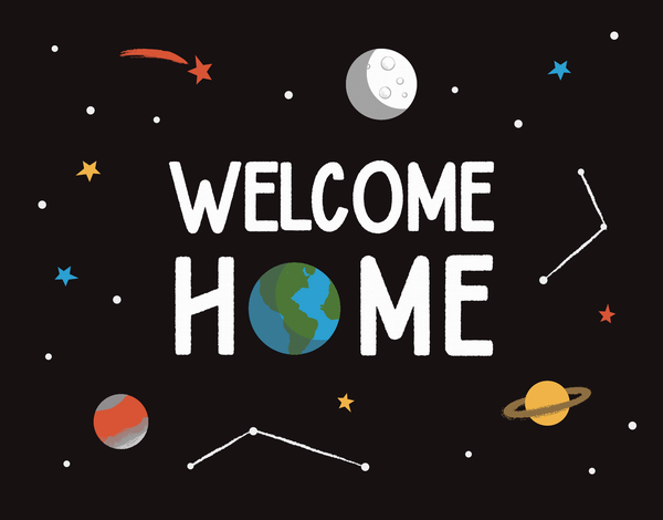 Galaxy Welcome Home