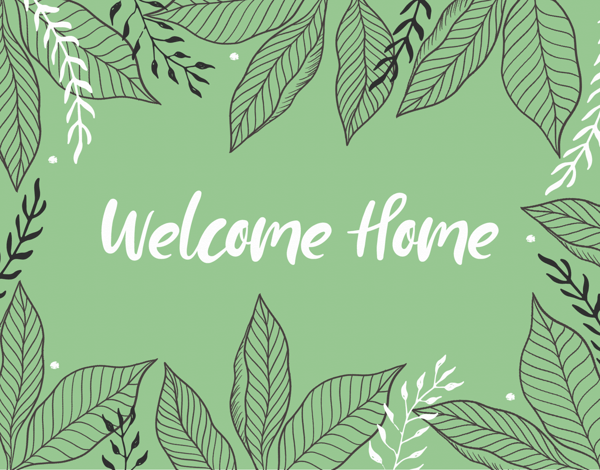 Leafy Welcome Home