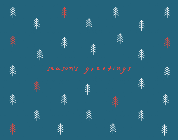 Season's Greetings Forest