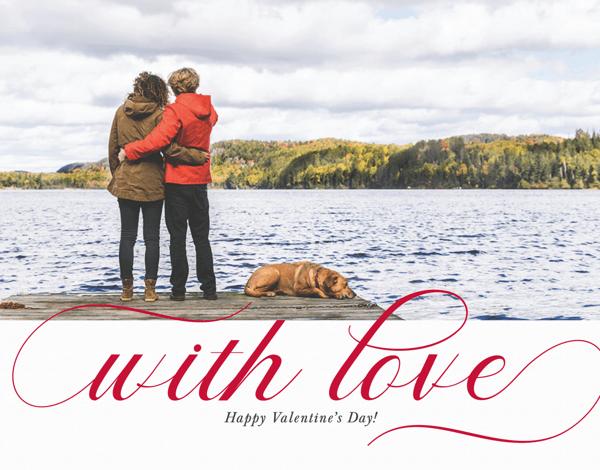 Lovely Script Valentine