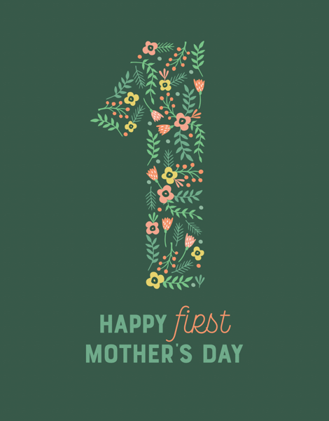 Floral First Mother's Day
