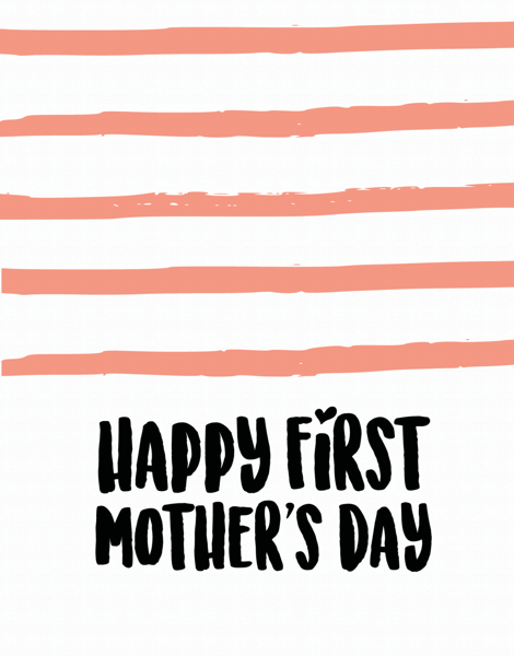 Mother's Day Stripes