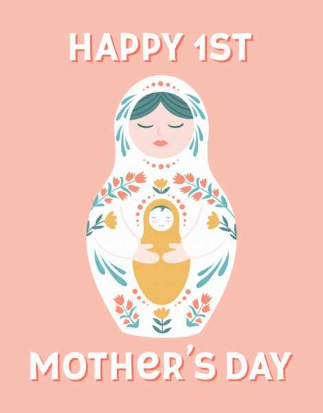 Nesting Doll First Mother's Day