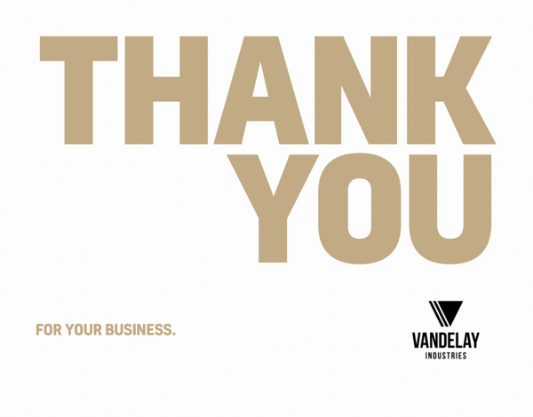 Business Thank You Cards Mailed For