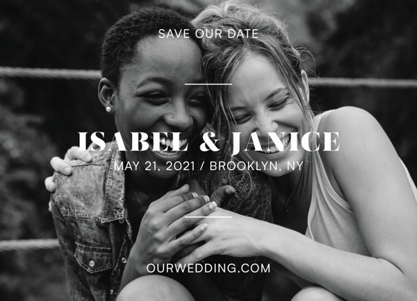 Charming Save The Date