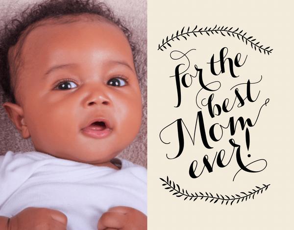 Natural Flourish Mother's Day Card