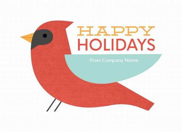 Cardinal Holiday Greeting