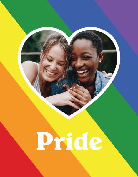 Custom Pride Heart