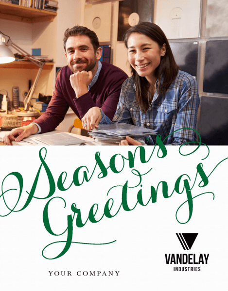 Season's Greetings Holiday Script
