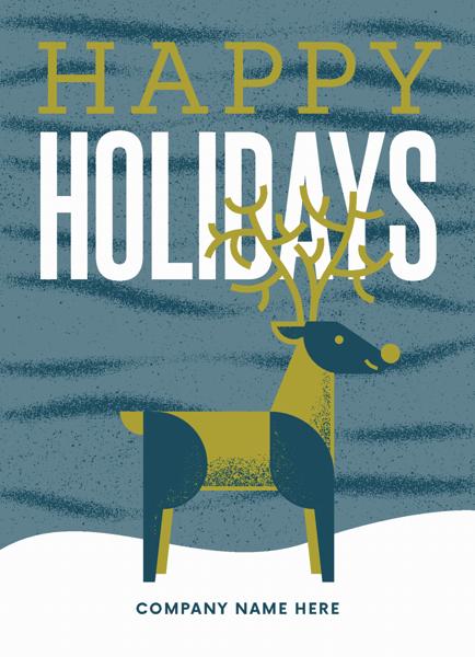 Reindeer Holiday
