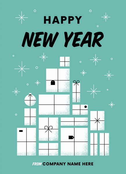 Gift Tower New Year