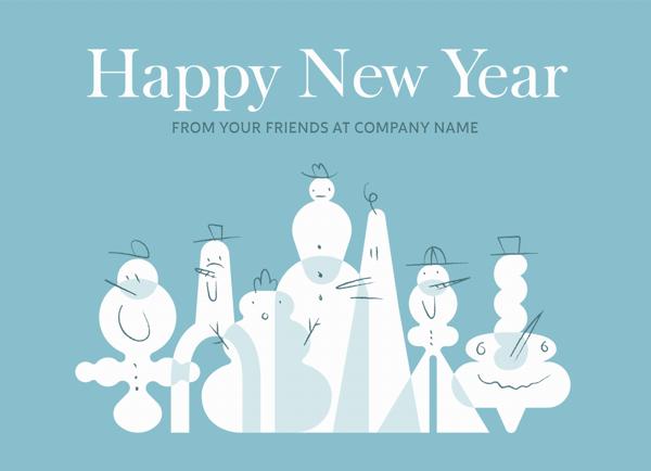 Snowman Crew New Year