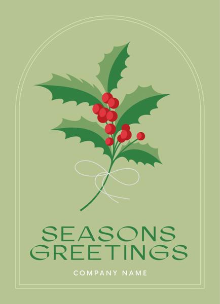 Seasonal Holly