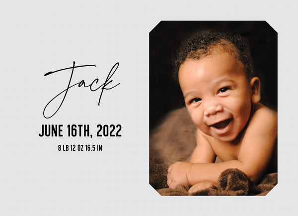 Sweet Baby Announcement
