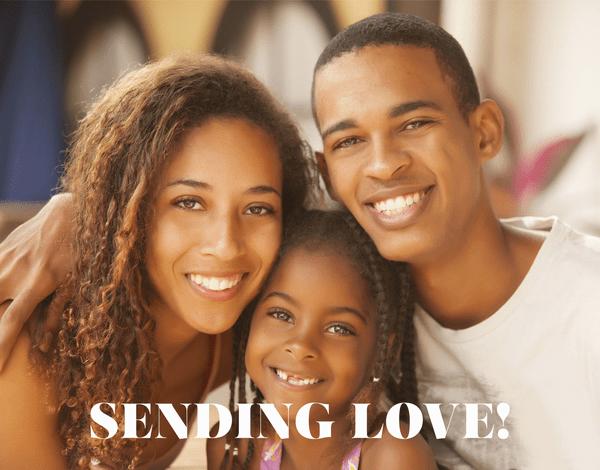Sending Love Message
