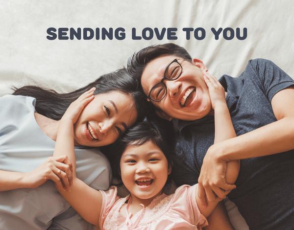 Sending Love Custom Message