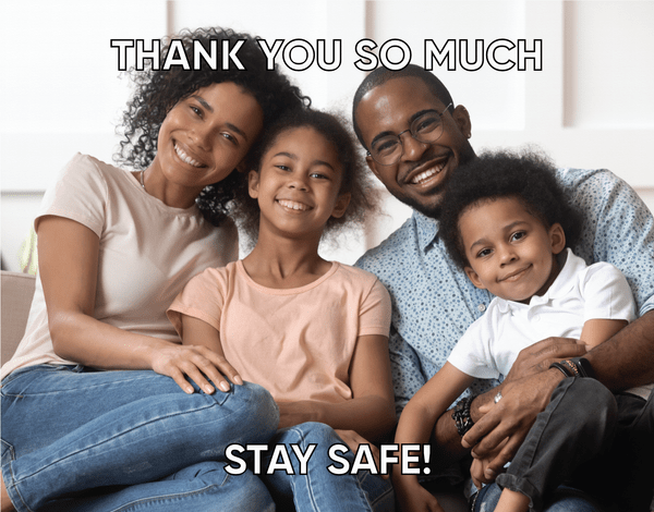 Your Photo & Horizontal Stay Safe