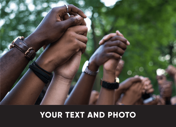 Your Text And Photo