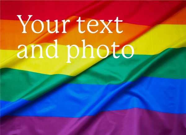 Upload Your Photo And Text