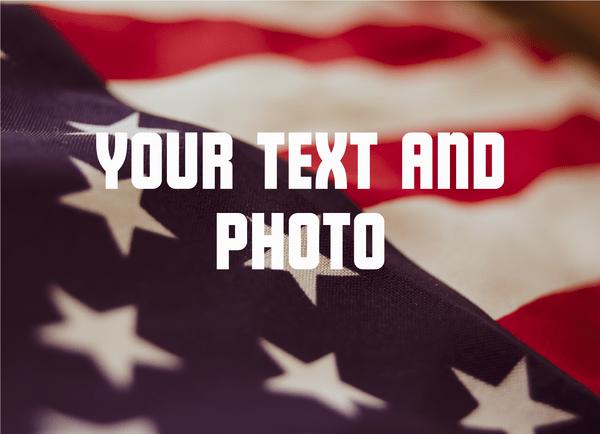 Custom Text And Photo