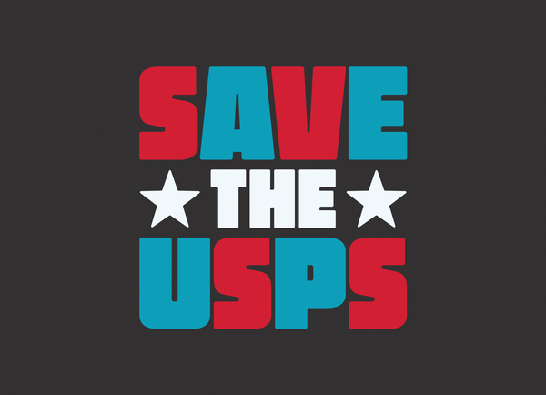 Bold Save The USPS