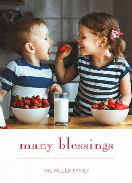 Many Blessings