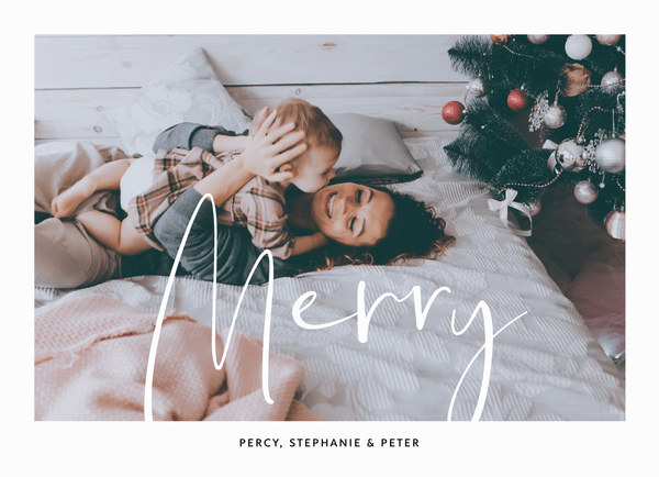 Simple Classic Merry
