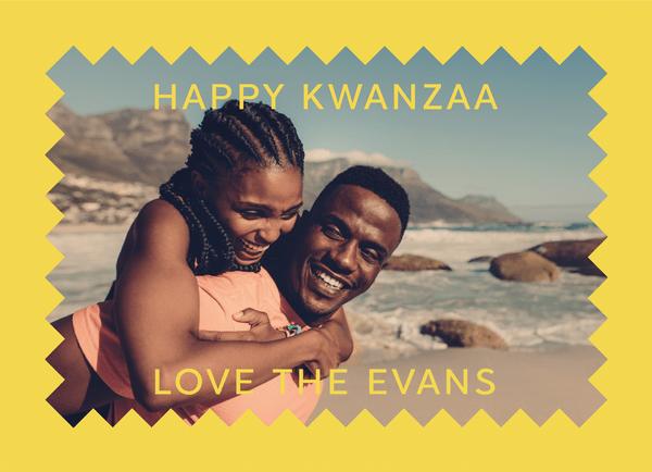 Yellow Kwanzaa Frame