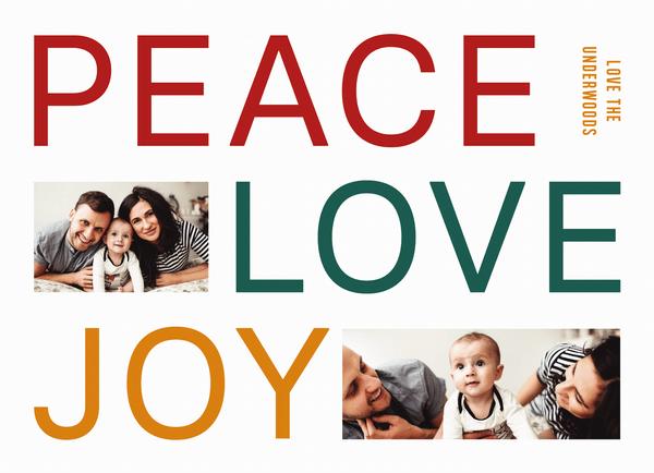 Big Peace Love Joy