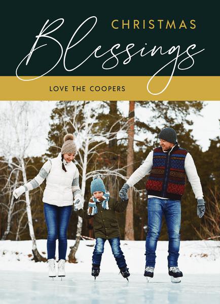 Elegant Christmas Blessings