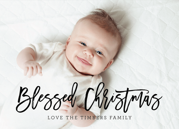 Blessed Christmas Script