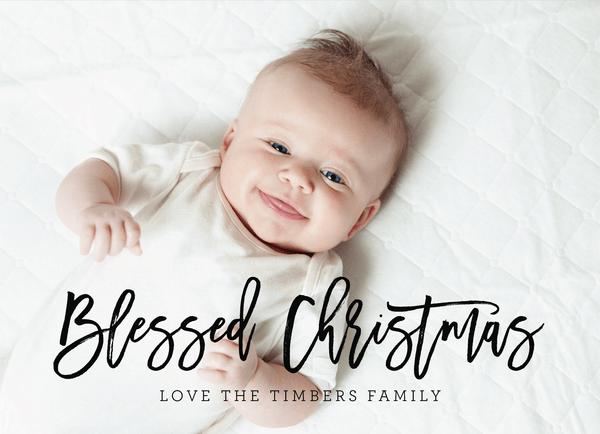 Blessed Christmas Script