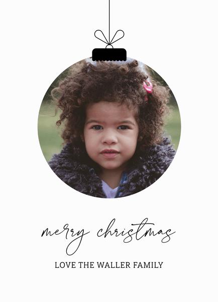 Delicate Christmas Ornament