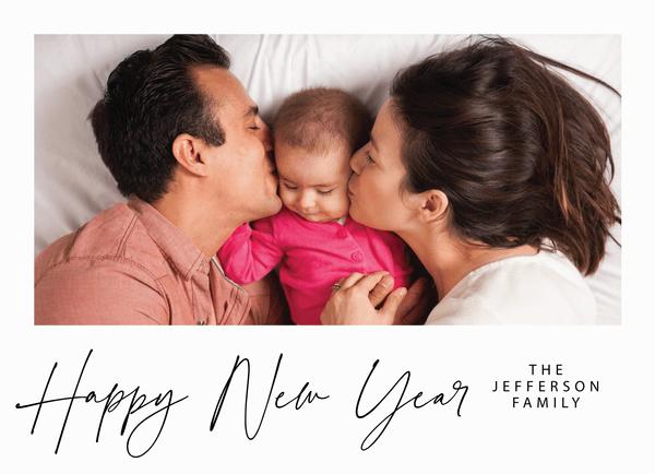Lovely Script New Year