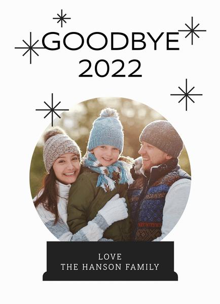 Goodbye 2020 Globe