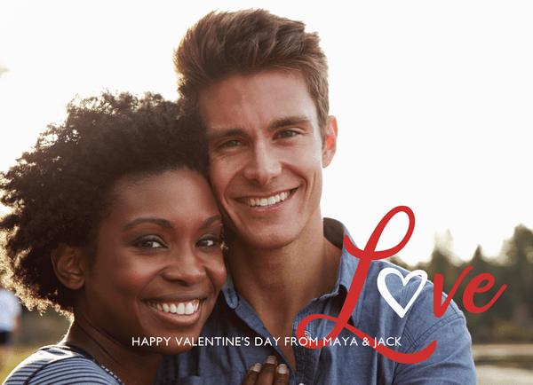 Valentine's Love Lettering