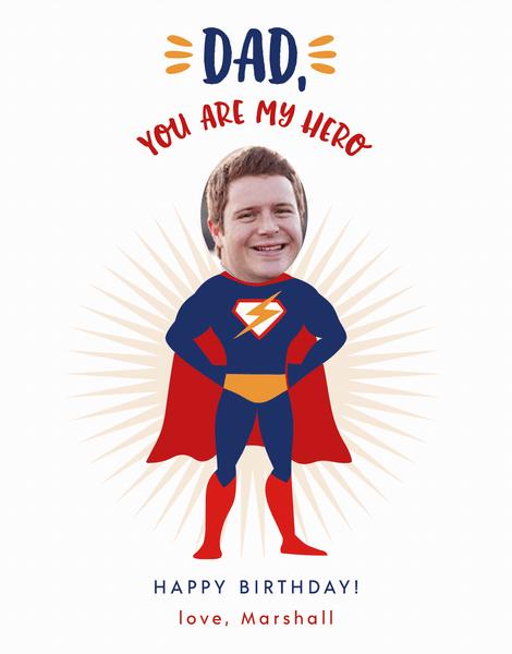 Superhero Dad Birthday