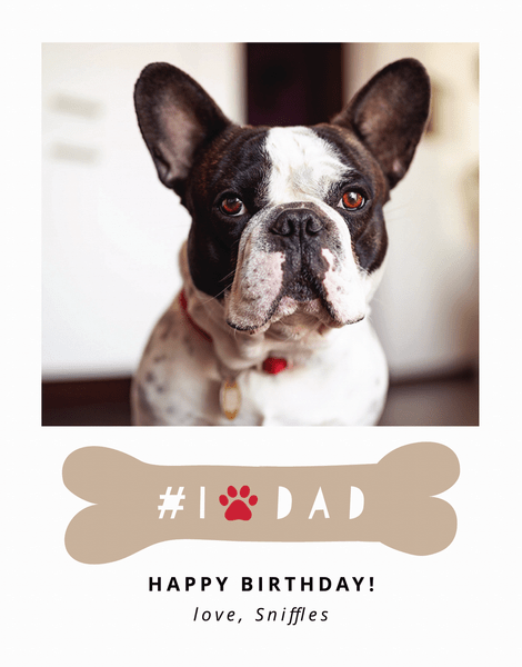Dog Dad Birthday