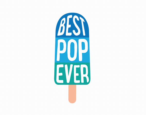 Summer Popsicle Father's Day Card