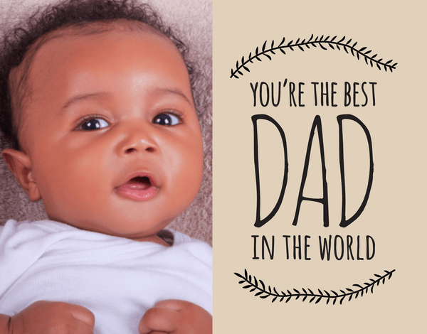 Doodle Photo Father's Day Card
