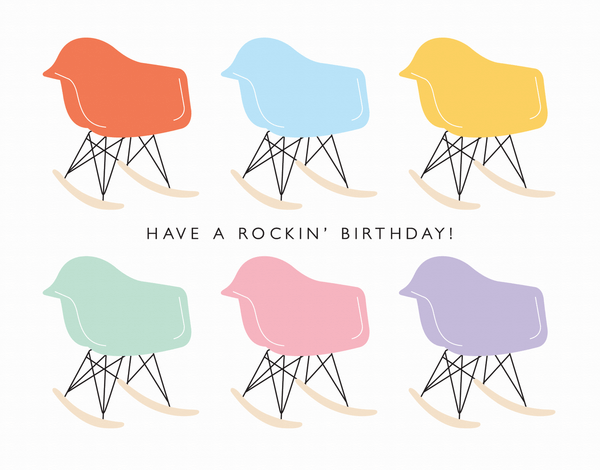Have A Rockin' Birthday Card