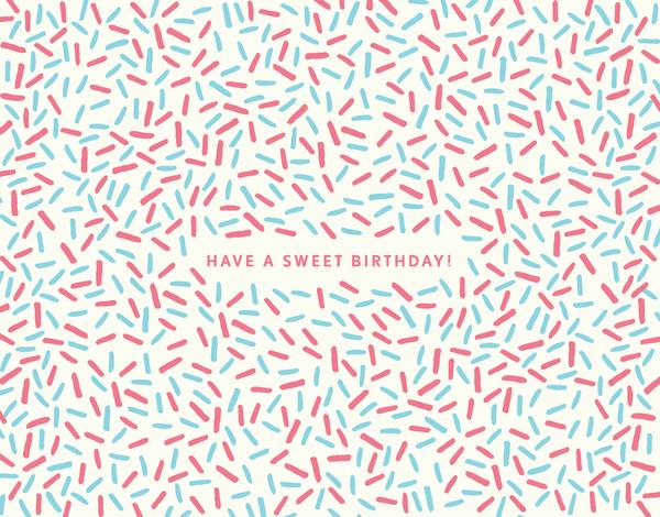 Sweet Sprinkles Birthday Card
