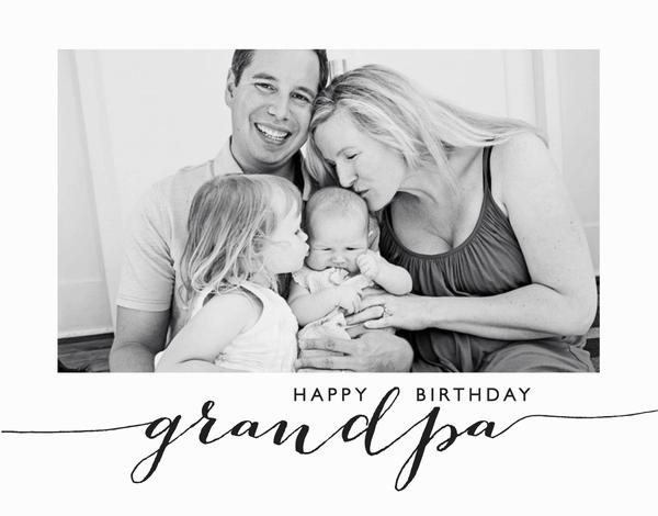 Grandpa Happy Birthday Card