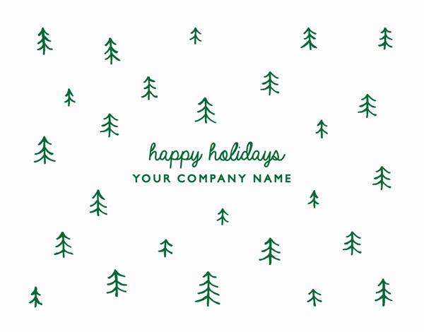 Doodle Trees Company Holiday Card